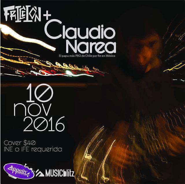 Claudio Narea @ Zeppelin MF