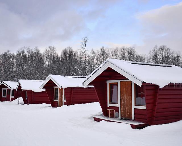 Mejor sitio de Noruega donde dormir para ver auroras boreales