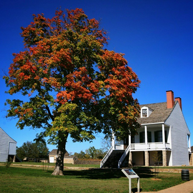 Fort Scott, Kansas is getting in on the autumn action.