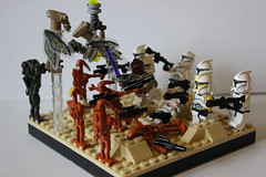 The First Battle of Geonosis by TrooperBrick