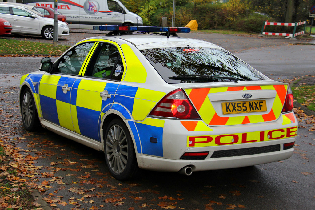 Northamptonshire Police Ford Mondeo St Driver Training Veh