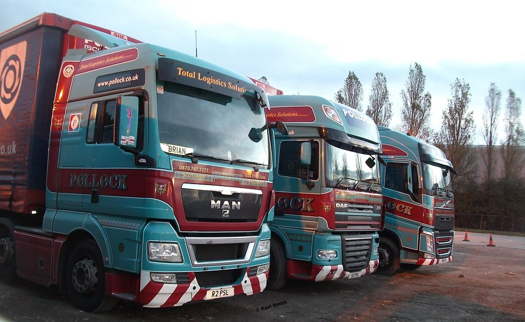 Pollock Scotrans. | 3 different marques waiting to deliver t… | Flickr