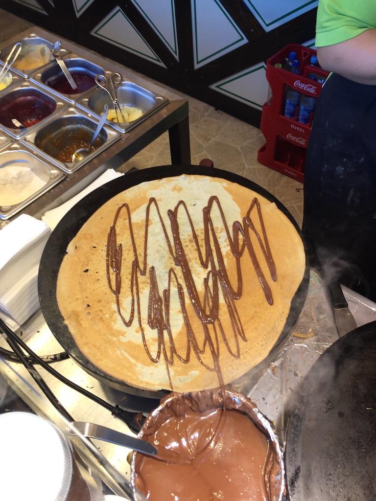 Nutella捲餅