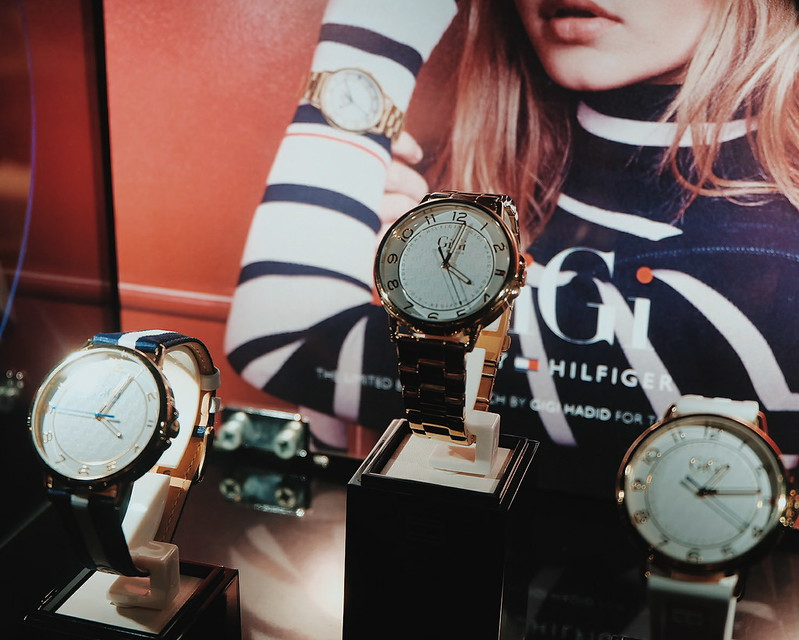 Tommy Hiliger Gigi Hadid Watch Collection