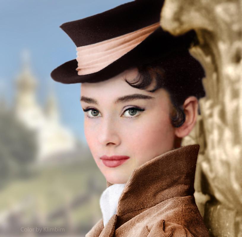 Audrey Hepburn As Natasha Rostova In War And Peace 1956