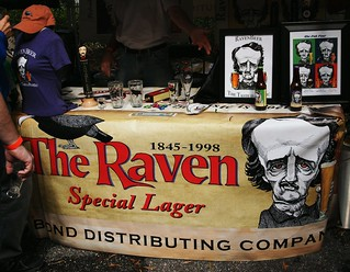 The Raven booth
