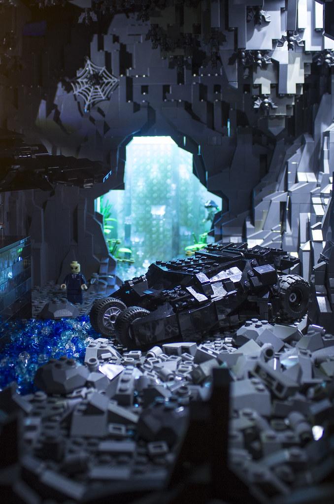 Lego Batcave Dark Knight Dark Knight Rises Batcave