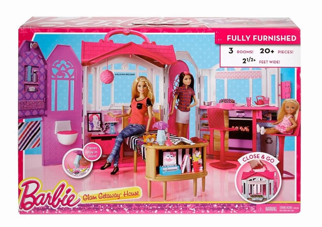Barbie Glam Getaway House Boxed | Source: MattelKen ...