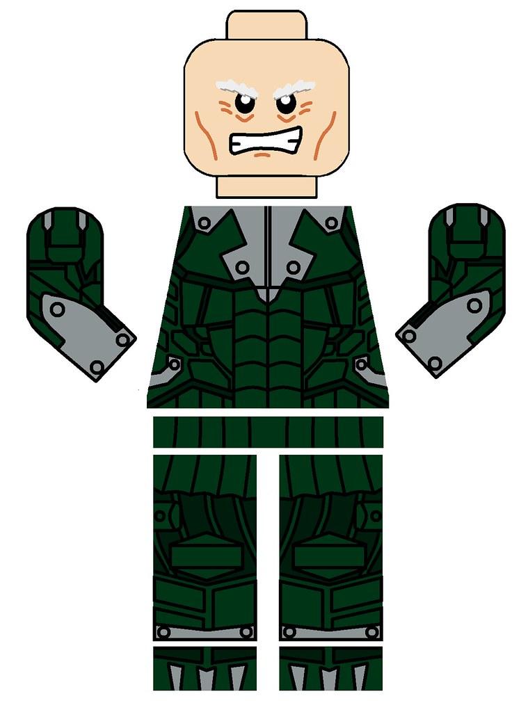 Lego Decals Spiderman