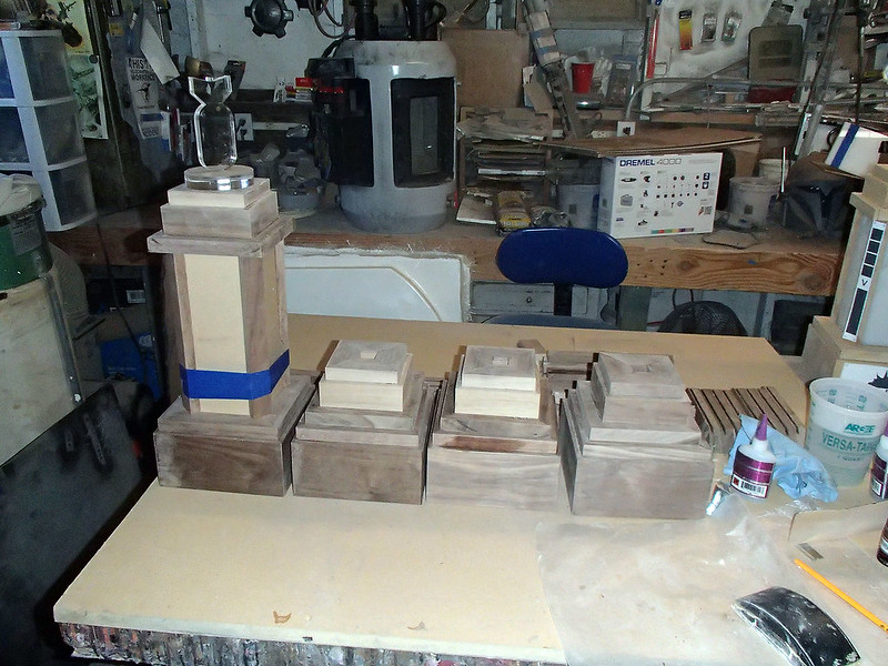 Bases and Tops Assembled