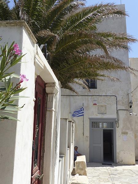 le musée archéologique de Naxos est ouvert