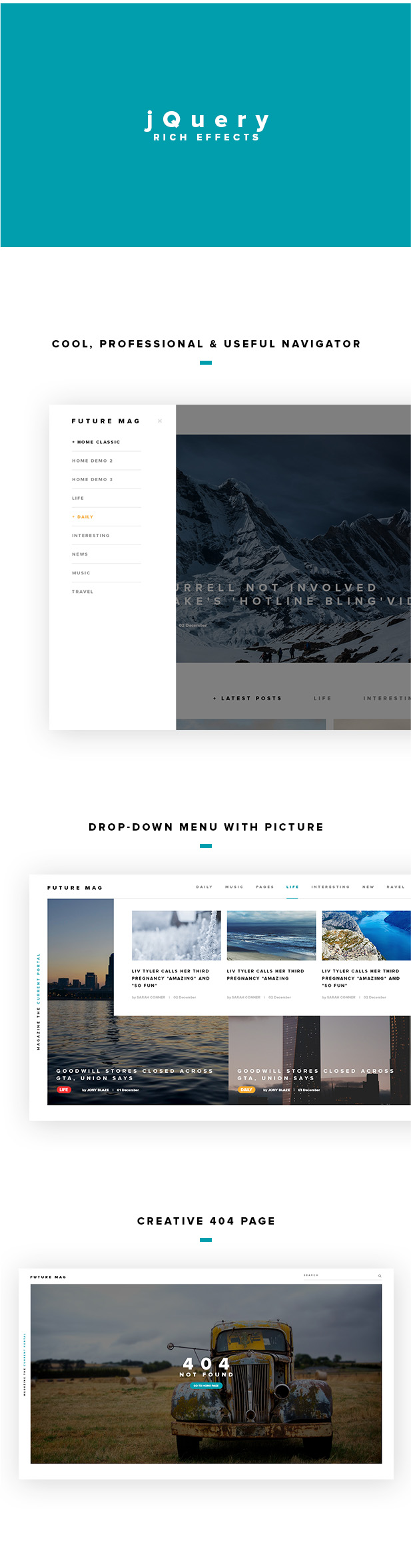 Future Magazine WordPress Theme - 3