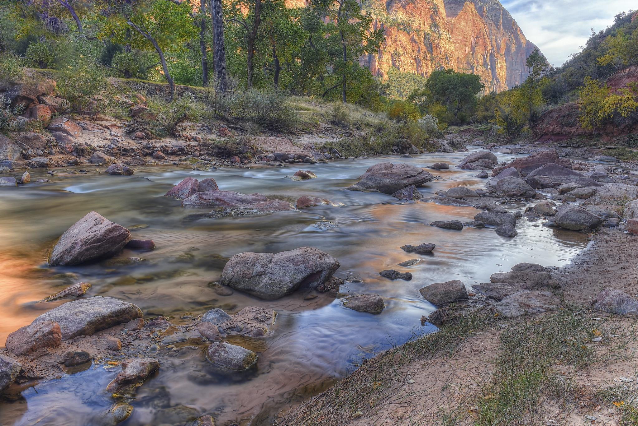 The Virgin River, Zion National Park