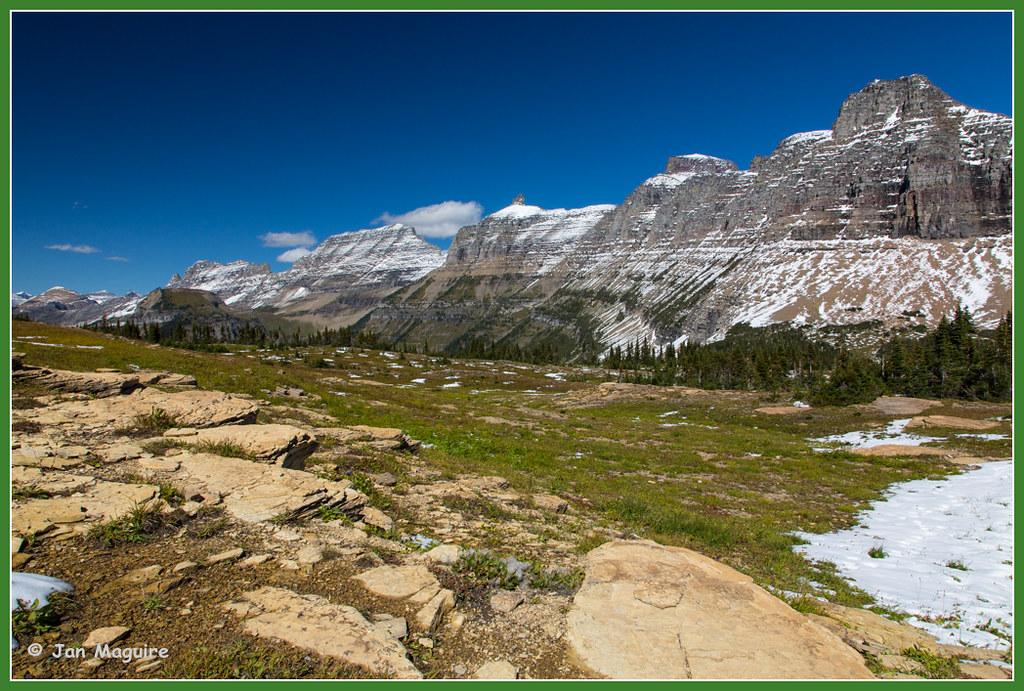 Garden Wall 3202 Glacier National Park Hidden Lake Trail Flickr