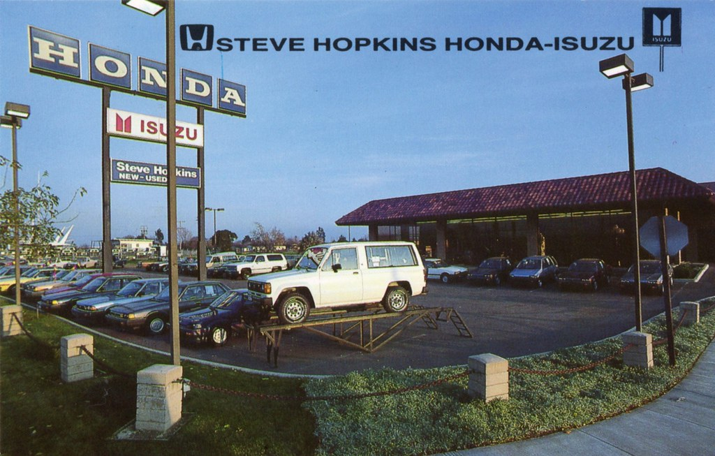 Steve Hopkins Honda Isuzu Fairfield Ca 2499 Magellan