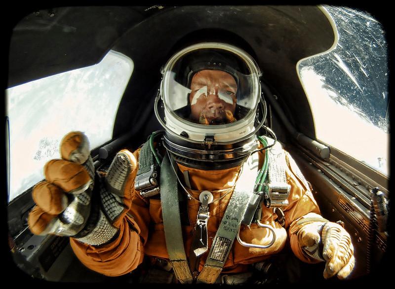 Spacesuit Selfie.