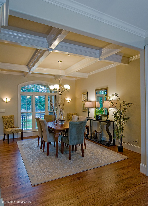 Dining room lighting, featuring Plan #1204 - The Rochelle