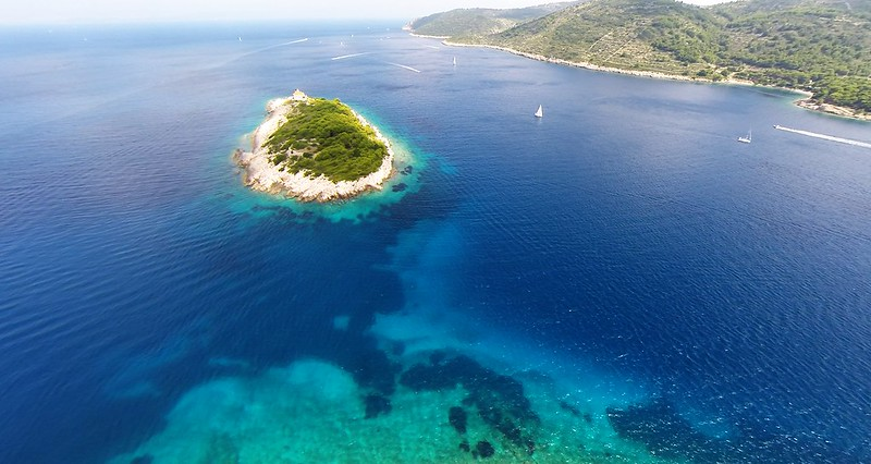 Crystal clear sea, Vis, Croatia