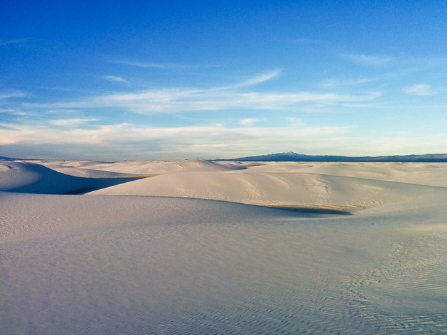 White Sands, NM: White Sands National Monument