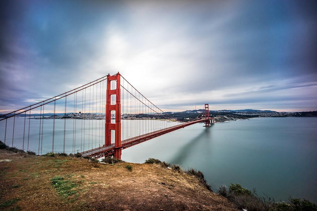 Golden Gate Bridge Color Page