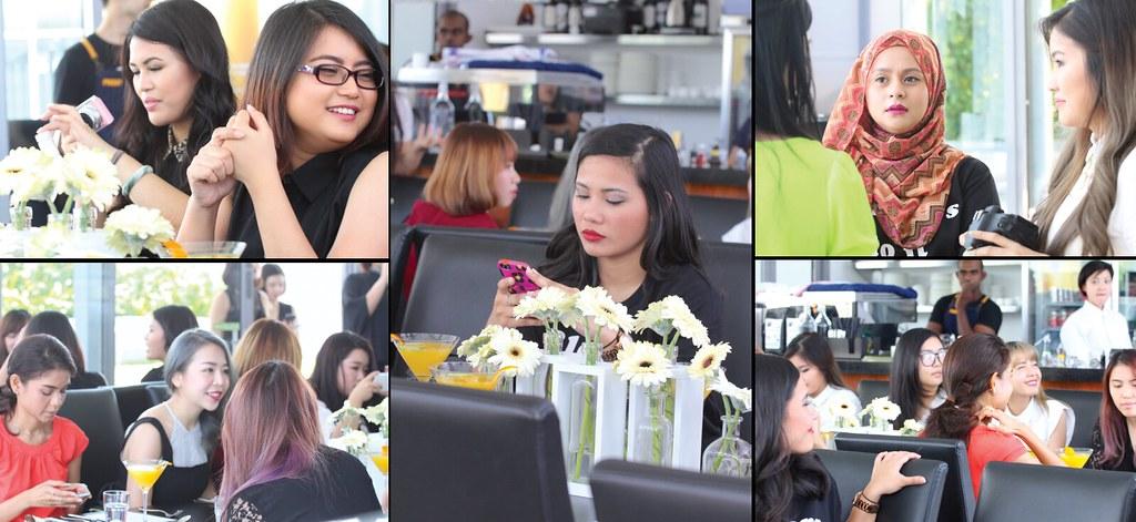 Shu Uemura Skinfit Bloggers collage