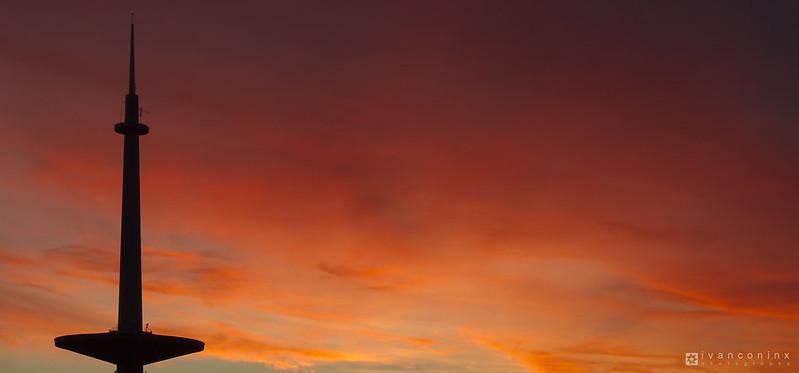 Sunset – Mechelen – 2016 11 30 – 01 – Copyright © 2016 Ivan Coninx