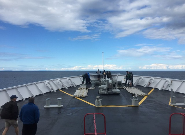 Crossing the Strait of Juan de Fuca