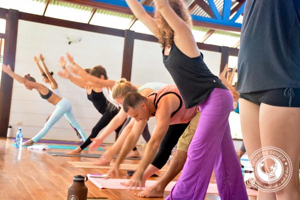 Yoga Class at Teacher Training