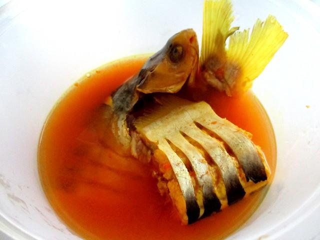 Ikan buris masak kunyit