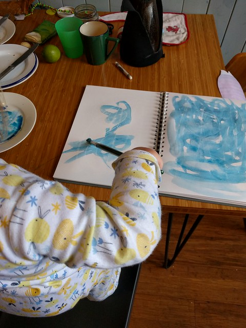 Painting with Toddlers - Misericordia