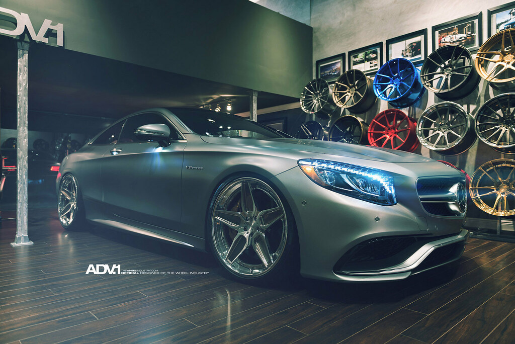 ADV1 Forged Wheels Mercedes S63 Coupe | Dynamic Turbo | Flickr