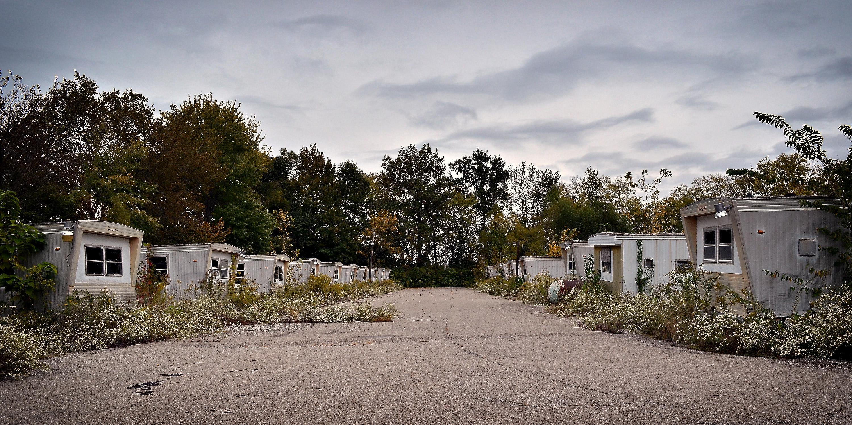 Green Acres Trailer Park - Carbondale, Illinois U.S.A. - October 11, 2014