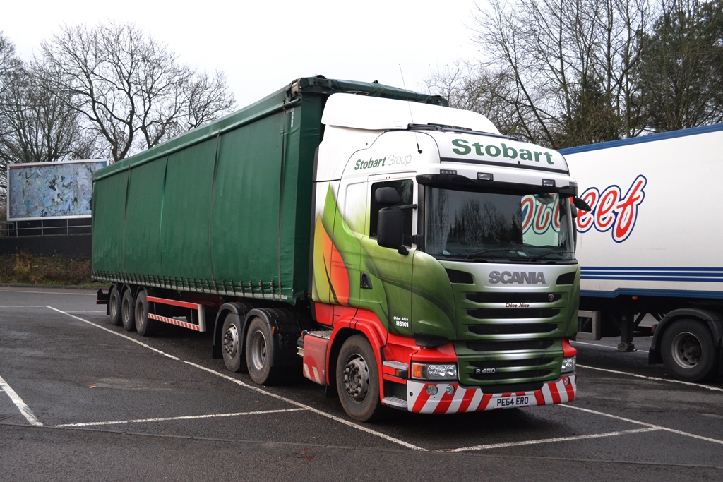 Stobart Biomass Transport H8101 Pe64ero Chloe Alice