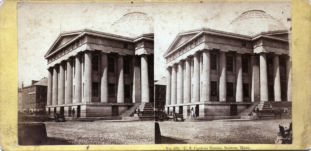 John P. Soule - U.S. Custom House, Boston, MA, 1866 | Flickr ...