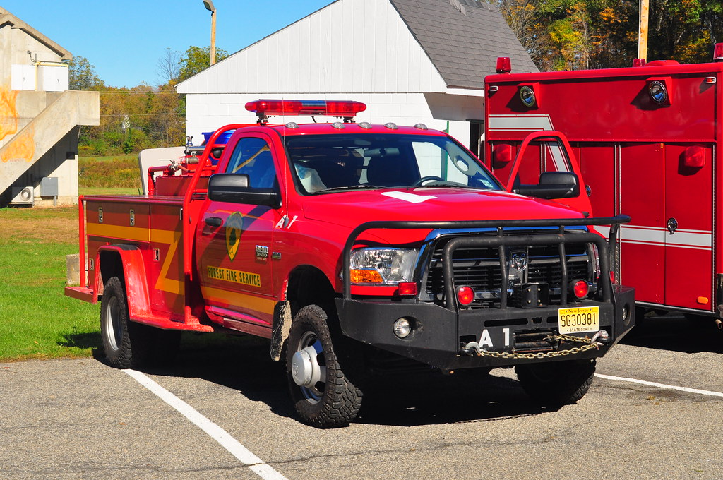 New Jersey Forest Fire Service Brush Truck A1 2012 Dodge