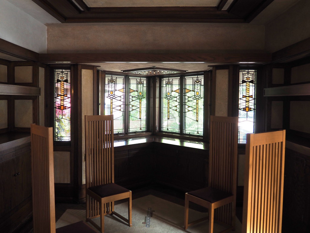 Frank Lloyd Wright Robie House Dining Room