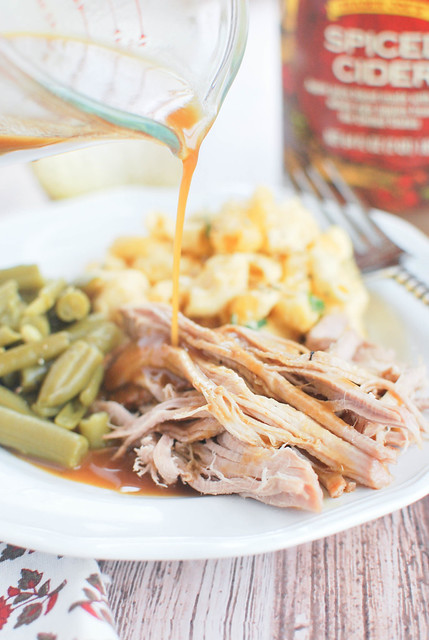 Slow Cooker Apple Cider Braised Pork