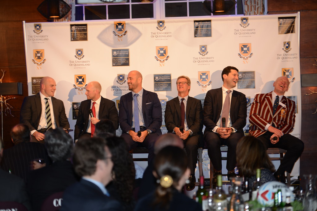 UQ Rugby Benefit Dinner 2014 in NYC
