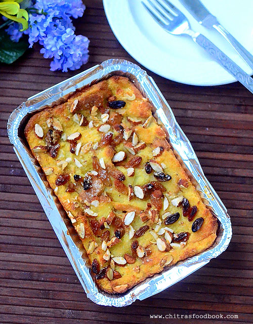 Bread pudding recipe without eggs