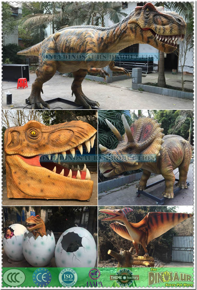 Animated Dinosaur Models