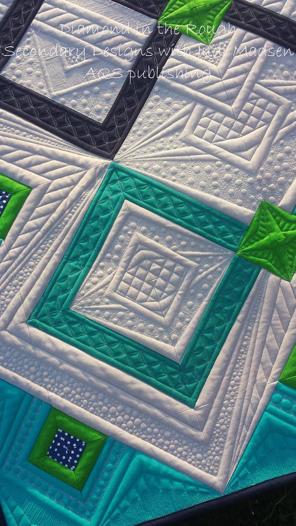 Diamond3 Diamond In The Rough Pattern By Judi Madsen In