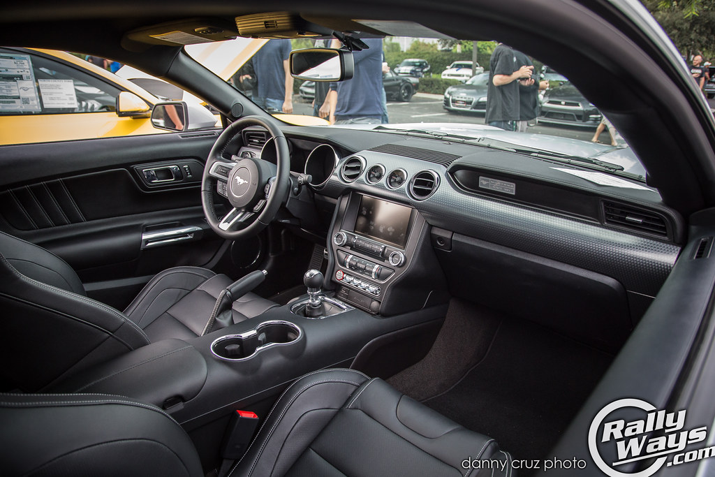 2015 Mustang Gt Performance Package Interior The Much Impr Flickr