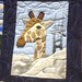 Zoo Holiday~ Giraffe Detail~Quilt by Nancy S Brown & The Bulbs