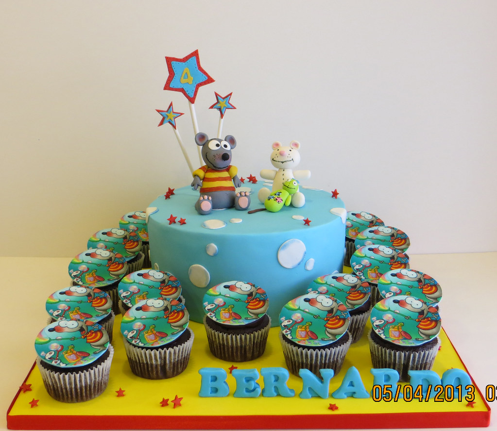 toopy and binoo cake and cupcakes beth flickr