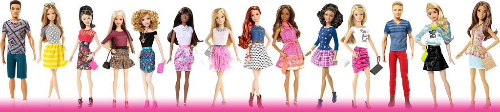 New Fashionista Barbie Dolls Barbie Fashion Dolls