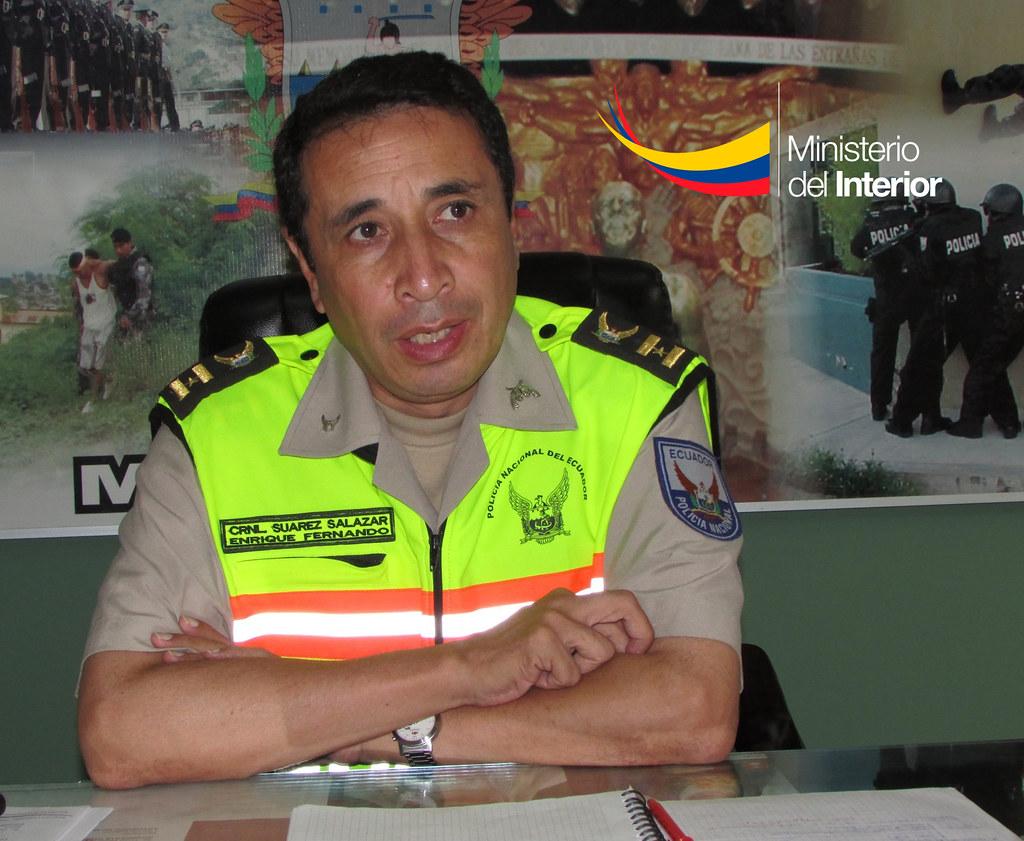 Coronel Enriqu: Coronel Enríque Suárez, Jefe De La Subzona Manabí