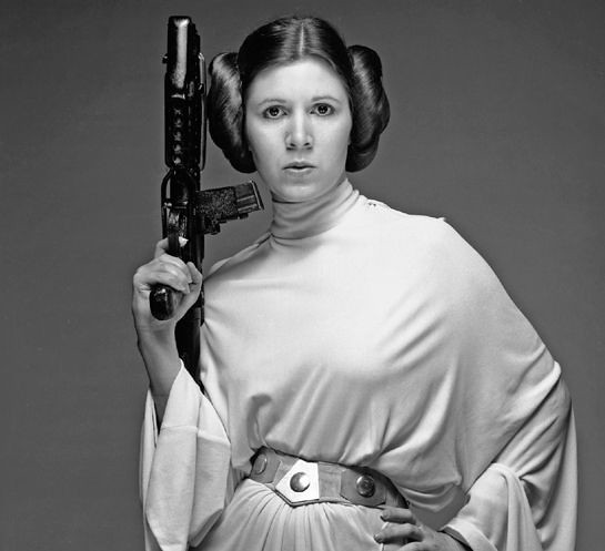 Carrie Fisher As Princess Leia  Tom Simpson  Flickr-4467