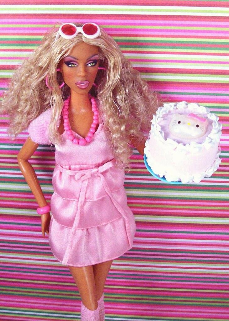 Barbie Dress Birthday Cake