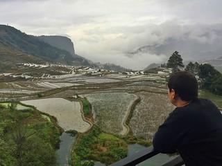 Sele en Jacky's Guesthouse (Arrozales de Yuanyang en Yunnan)