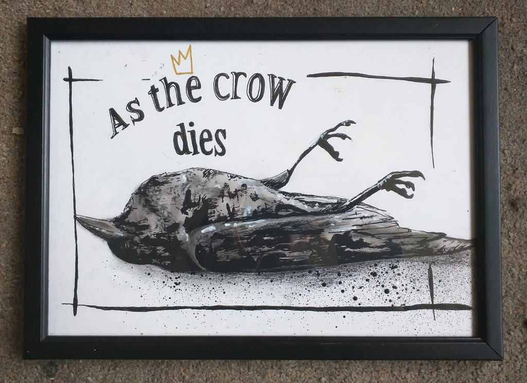 As the crow dies...